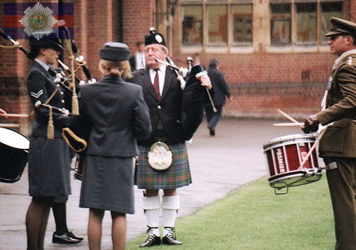 Teaching Cadets Pipes (Berkhamsted School).